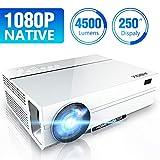 Vidéoprojecteur 4500 Lumen Native 1080p (1920 x 1080) Projecteur LED Full HD,...