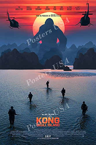 Kong Skull Island Movie Poster Glossy Finish Made in USA - MOV774 (24' x 36' (61cm x 91.5cm))