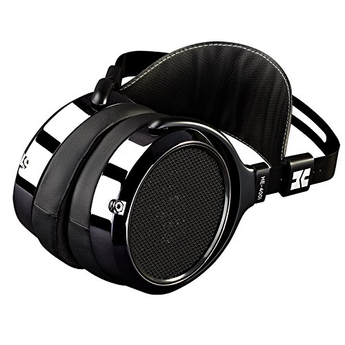 HIFIMAN HE-400I Over Ear Full-Size Planar Magnetic Headphones Adjustable Headphone with Comfortable Earpads Open-Back Design Easy Cable Swapping