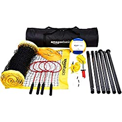 top rated Amazon Basics Volleyball & Badminton Combo Kit (with net) 2021