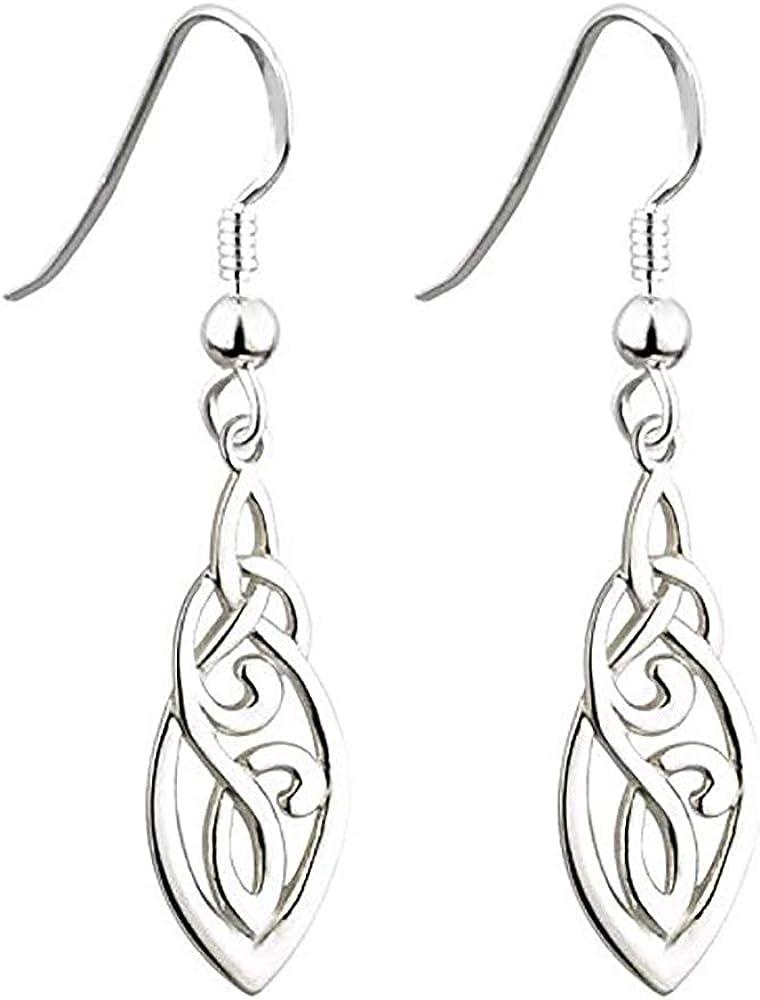 Ranking TOP7 Biddy Murphy Trinity Knot Earrings M Celtic Denver Mall Silver Sterling