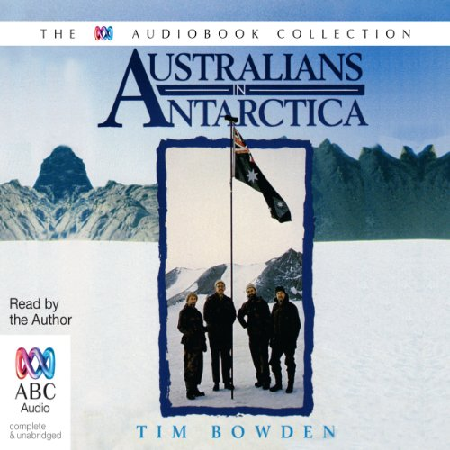 Australians in Antarctica audiobook cover art