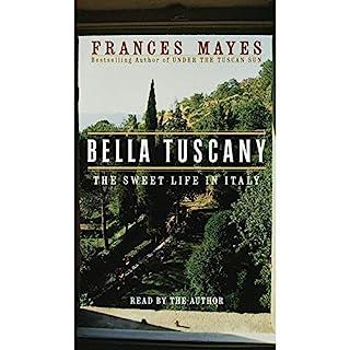Bella Tuscany audiobook cover art