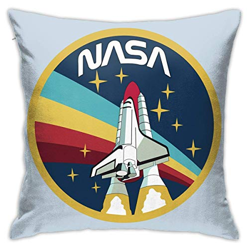 Tammy Bailey NASA Soft and Comfortable Square Outdoor Pillow Covers Cushion Case Cover for Sofa Car Pillowcase18 X18