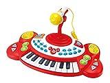 Winfun Beat Bop - Teclado (18 teclas, con micrófono, sonidos)