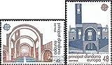 Prophila Collection Andorra - españolas Correos Michel.-No..: 193-194 (Completa.edición.) 1987 €uropa (Sellos para los coleccionistas)