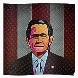 Generic Best Wow Bush New Selling Usa Pop Art W George