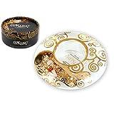 Carmani - Fancy Vetro Candela Portalume Centrotavola di lusso tavolo di nozze decorazioni della festa con la pittura Gustav Klimt