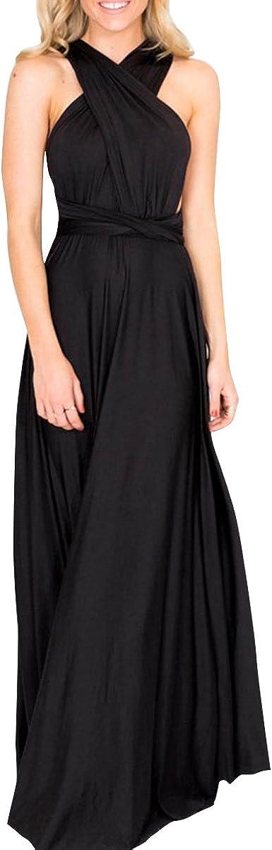 Women Transformer Multi Way Bandage Dress Convertible Bridesmaid Gown