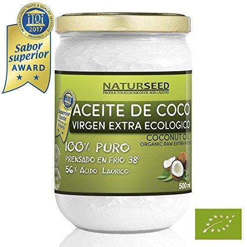 Naturseed Extra Organic Virgin Coconut Oil for Aesthetic Use, Kitchen...