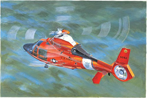 Trombettista 05.107 - Model Kit US Coast Guard HH-65C Dolphin Elicottero