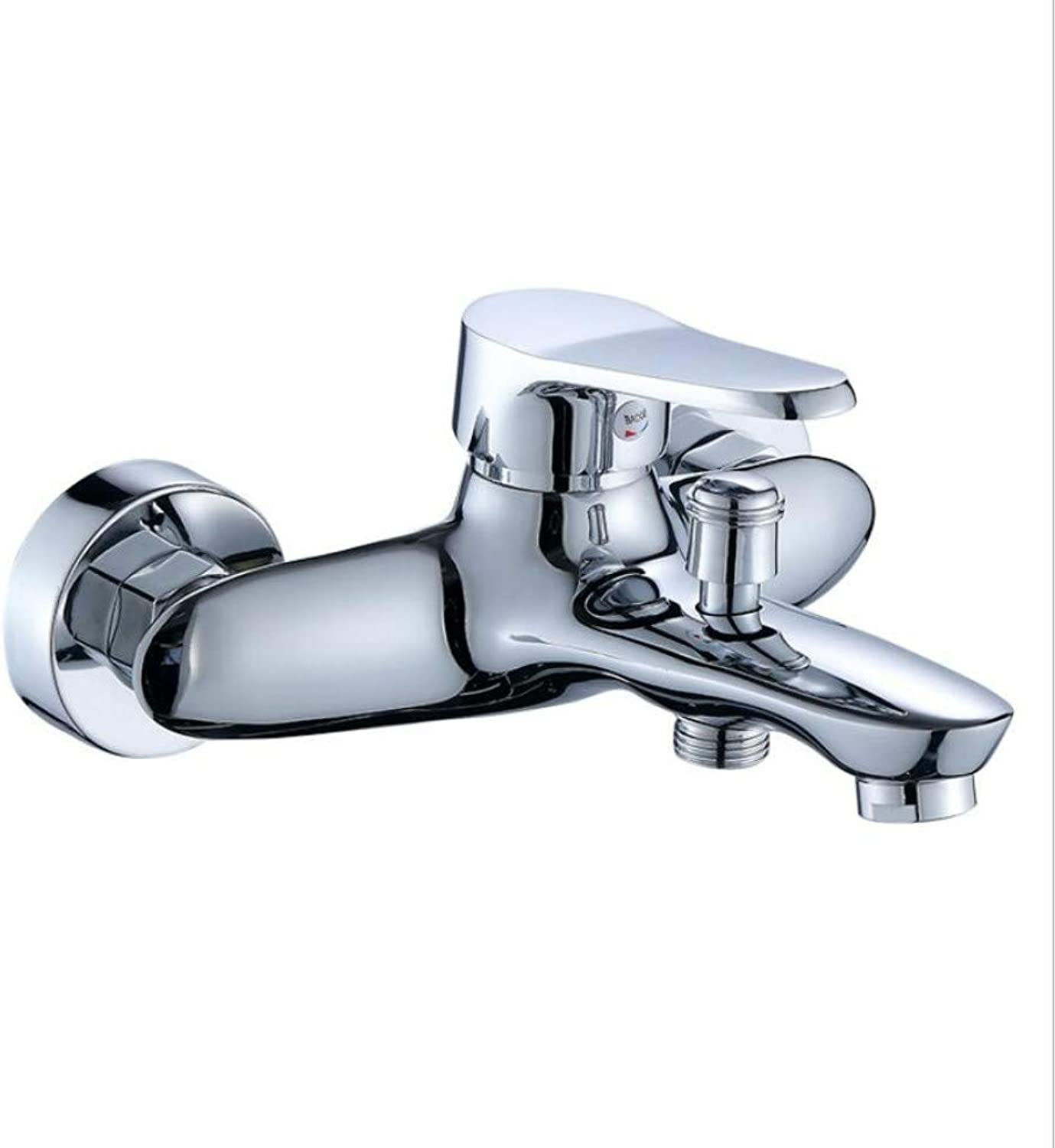 Bathroom Sink Basin Lever Mixer Tap Sanitary Shower Cold and Hot Tap Copper Shower Triple