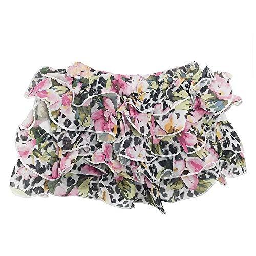 Saia Jook Jeans Voal Floral - UNICA - 14