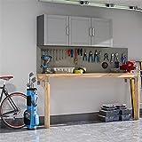 SystemBuild Callahan 54' Wall Cabinet, Gray