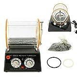 Schmuckpolierer Schmuck, 180W 5 KG NEU 5 Geschwindigkeiten Poliertrommel Poliermaschine Rotary Dreh-Tumbler Schmuck Polieren 220V