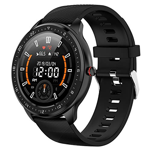 COLMI Smart Watch Compatible with Android iOS Phone, Waterproof Smartwatch for Men and Women, Activity Fitness Tracker with Heart Rate Blood Pressure and Sleep Monitor