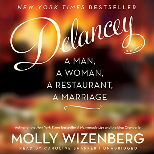 Delancey audiobook cover art