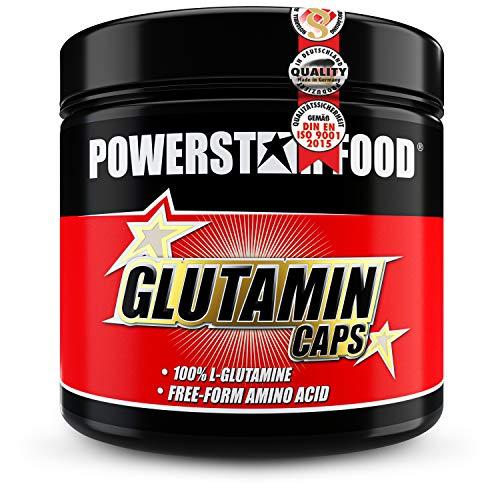GLUTAMIN CAPS | 300 Kapseln | HOCHDOSIERT | 6.800 mg pro Portion | Preis-Leistungs-Sieger | 100{b1e96ed144c0cd347f29a862864b668b40227caaa73f842c57c0d2d710f9f4f3} reines L-Glutamin für Muskelaufbau & Regeneration | Laborgeprüfte Pharmaqualität | MADE IN GERMANY