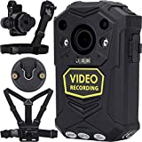 <span class='highlight'><span class='highlight'>BRIFIELD</span></span>® BR1 Body Camera - HD 1440p, GPS, 64GB, H.265   Body Cam for Security Roles & for Any Personal Footage Uses   Comes with Chest Harness, Shoulder Harness, Klickfast Stud Piece & Dock Piece