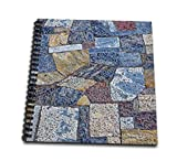 3dRose Greece, Athens. Patterns in mosaic walkway at Acropolis. - Drawing Books (db_343798_1)