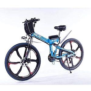 Knewss 26 Mx300 zusammenklappbares Elektrofahrrad Shimano 7-Gang E-Bike 48 V Lithiumbatterie 350 W 13ah Motor Elektrofahrrad für Erwachsene