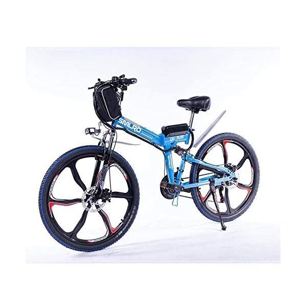512erghSGwL. SS600  - Knewss 26 Mx300 zusammenklappbares Elektrofahrrad Shimano 7-Gang E-Bike 48 V Lithiumbatterie 350 W 13ah Motor Elektrofahrrad für Erwachsene
