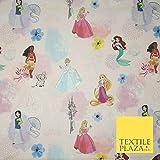 Pinker Disney Prinzessin Rapunzel Moana Aquarelldruck 100%