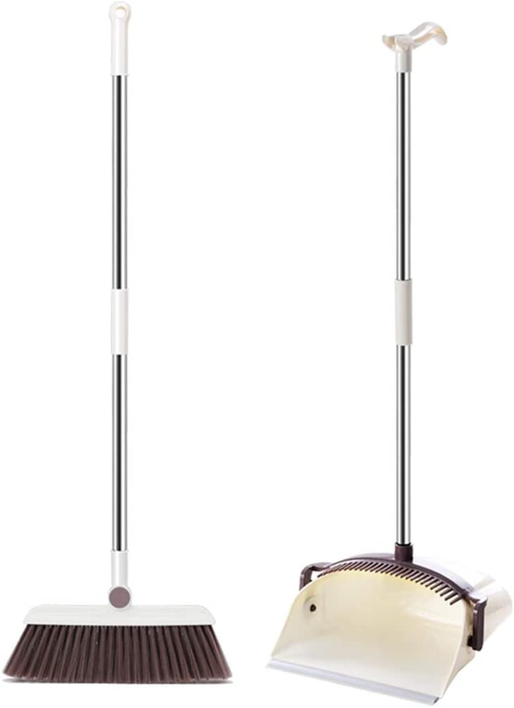 NLIAN- Broom and Dustpan Set - Upright New Large special price !! item Supplies a Cleaning