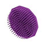 Romote 1 unids masajeador champú Cepillo masajeador del Cuero cabelludo masajeador púrpura 8cm