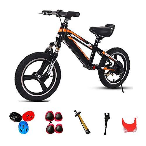YYhkeby 4-11 años de Bicicleta de Balance Antiguo, Marco de Acero al...
