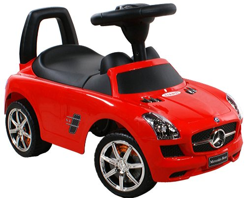 Jouets ? tirer Trotteur Porteur Baby Car ARTI Mercedes SLS AMG 332 Red / Rouge Ride-On Activity Toy