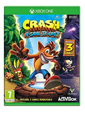 Crash Bandicoot NSane Trilogy (Xbox One)