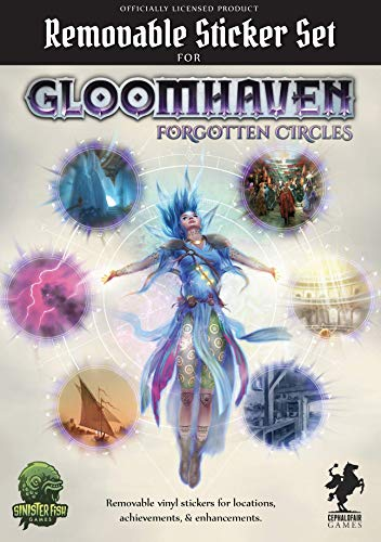 GLOOMHAVEN REMOVABLE STICKER S