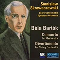 B茅la Bart?k: Concerto for Orchestra / Divertimento for String Orchestra by Saarbr眉cken Radio Symphony Orchestra (2013-08-05)