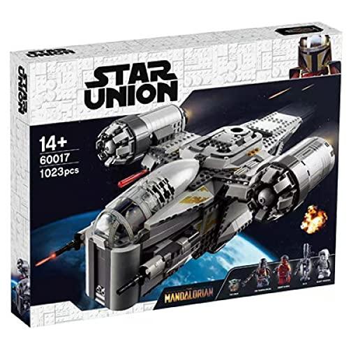 75292 bloques de construcción de la serie Star, modelo de bloque de construcción de navaja de rompecabezas para niños (compatible con el modelo de bloque de construcción Lego)
