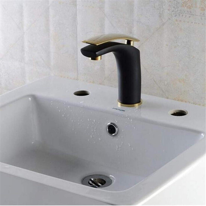 Faucet Luxury Plated Kitchen Bathroom Faucet Faucet Mixer Luxury Design Multi-color Brass Dull Handle Sink Taps Basin Faucet Mixer Tap