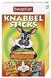 BEAPHAR – Knabbel Sticks, bâtonnets à grignoter pour lapin et rongeur – Complément alimentaire/friandise – Répond aux besoins des rongeurs – Facile à digérer – Ingrédients extrudés – 150 g