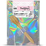 The Glitter Labs Lady Rose Body Scrub: Exfoliante corporal, exfoliante de sales de azúcar, saltarín sugar, 1 unidad (230 g)