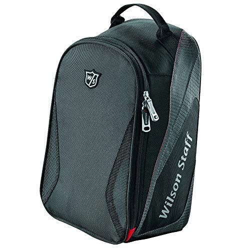 Wilson Staff Golf Schuhtasche, Shoe Bag, schwarz, WGB5005BL