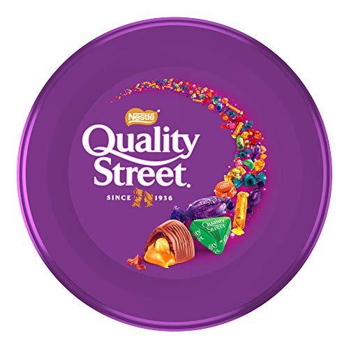 Nestlé Quality Street Bombones de Toffee, Recubiertos de Chocolate, 480g