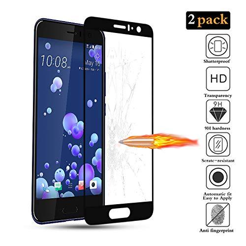 GoodcAcy [2 Stück] Panzerglas Schutzfolie für HTC U11 Bildschirmschutzfolie, Tempered Glas Schutzglas, 9H Festigkeit, Anti-Kratzen, Anti-Öl, Anti-Bläschen, Schützen Vision