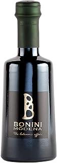 BONINI Productor de vinagre balsámico tradicional de Módena DOP, aderezo Vivace 250 ml derivado de mosto de uva cocido, envejecido en barriles de 3 años, hecho en Italia, certificado Kosher