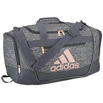 adidas Unisex Defender III Small Duffel Bag Jersey Onix/ Rose Gold Small