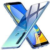 Verco Handyhülle für Samsung A9 2018 Hülle, Handy Cover für Samsung Galaxy A9 2018 Hülle Transparent Dünn Klar Silikon, durchsichtig