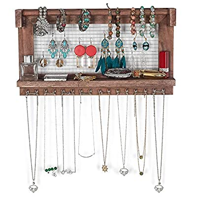 Teeker Jewelry Manager - Wall Mounted Jewelry S...