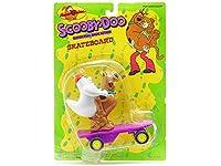 スクービー・ドゥー w/おばけ プルバック スケートボード フィギュア 1996年 ハンナ・バーベラ Scooby-Doo Ghost Pull Back Skateboard Hanna-Barbera