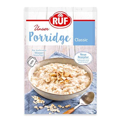 RUF Porridge Classic Porridge purmit Vollkorn-Haferflocken, 1 x 65 g