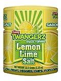 Twang Twangerz Flavored Salt Snack Topping - Lime, Lemon Lime, Chili Lime & Dill Pickle (Dill Pickle, 12 Pack) by Twang