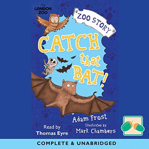 Catch That Bat! audiobook cover art