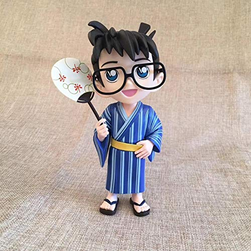 Detective Conan Modell Conan Puppe Edogawa Conan handgemachte Puppe Dekoration Geburtstagsgeschenk-Japanischer Kimono Conan